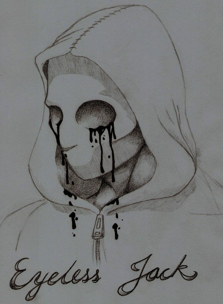 Drawn eyeless jack On DeviantArt Jack FISHYPAWNDZ Eyeless