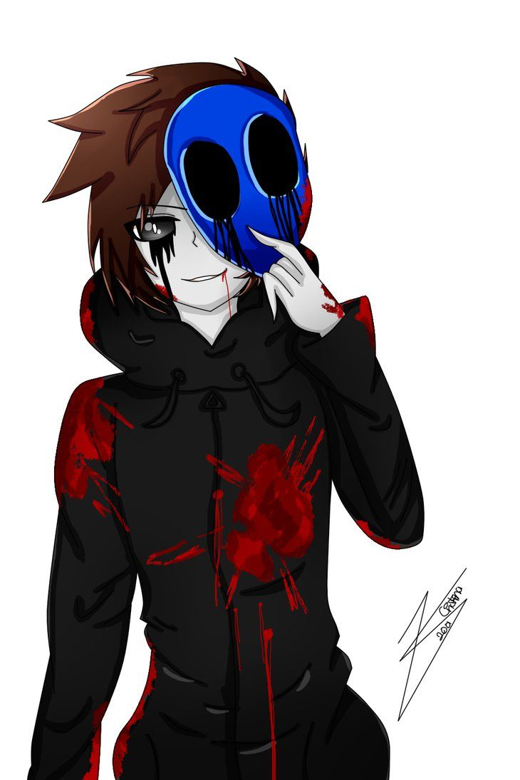 Eyeless Jack clipart eyless Ideas Eyeless jack Render Anime