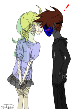 Drawn eyeless jack ben drowned X [BEN by Kiss on