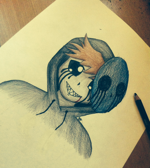 Drawn eyeless jack cute (CreepyPasta) crazy2dragons on CreepyPasta DeviantArt