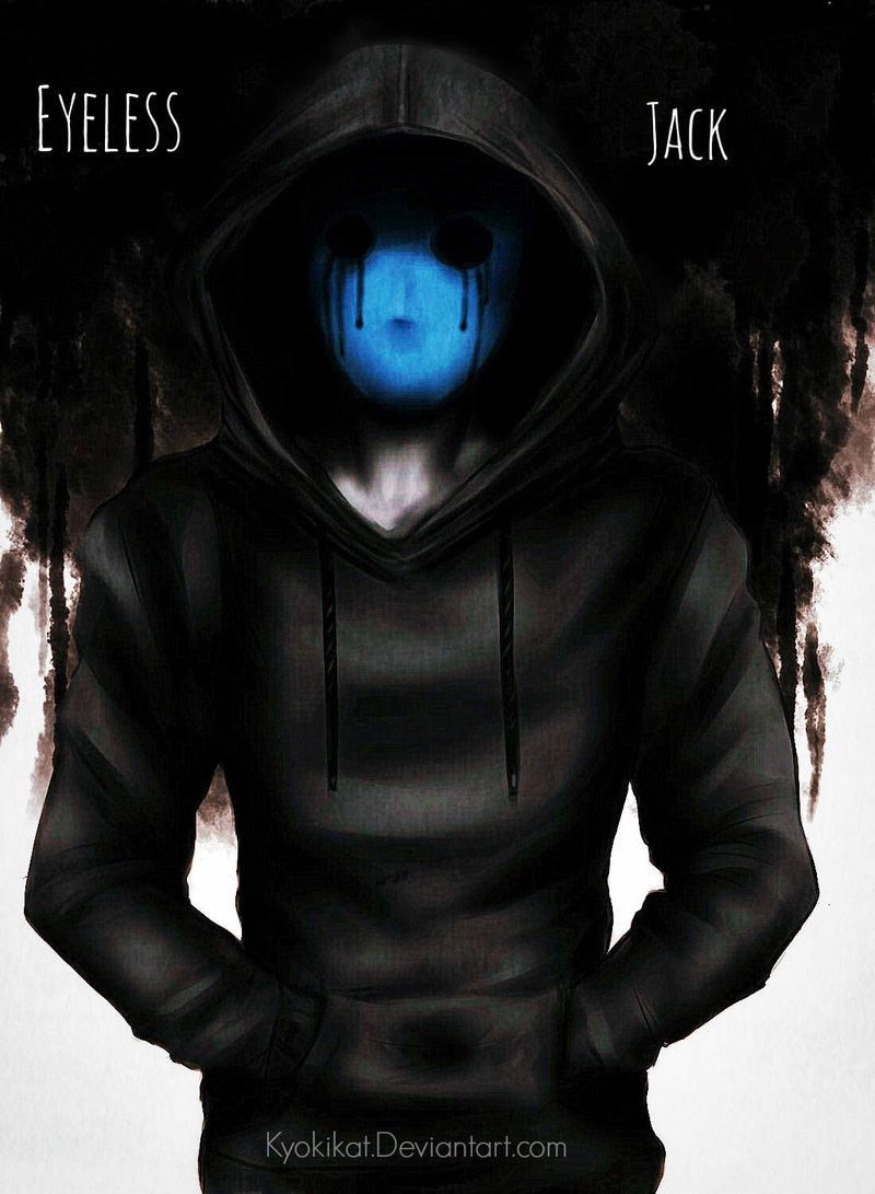 Eyeless Jack clipart creepypasta character Eyeless Jack Eyeless KyokiLaFreakshow by