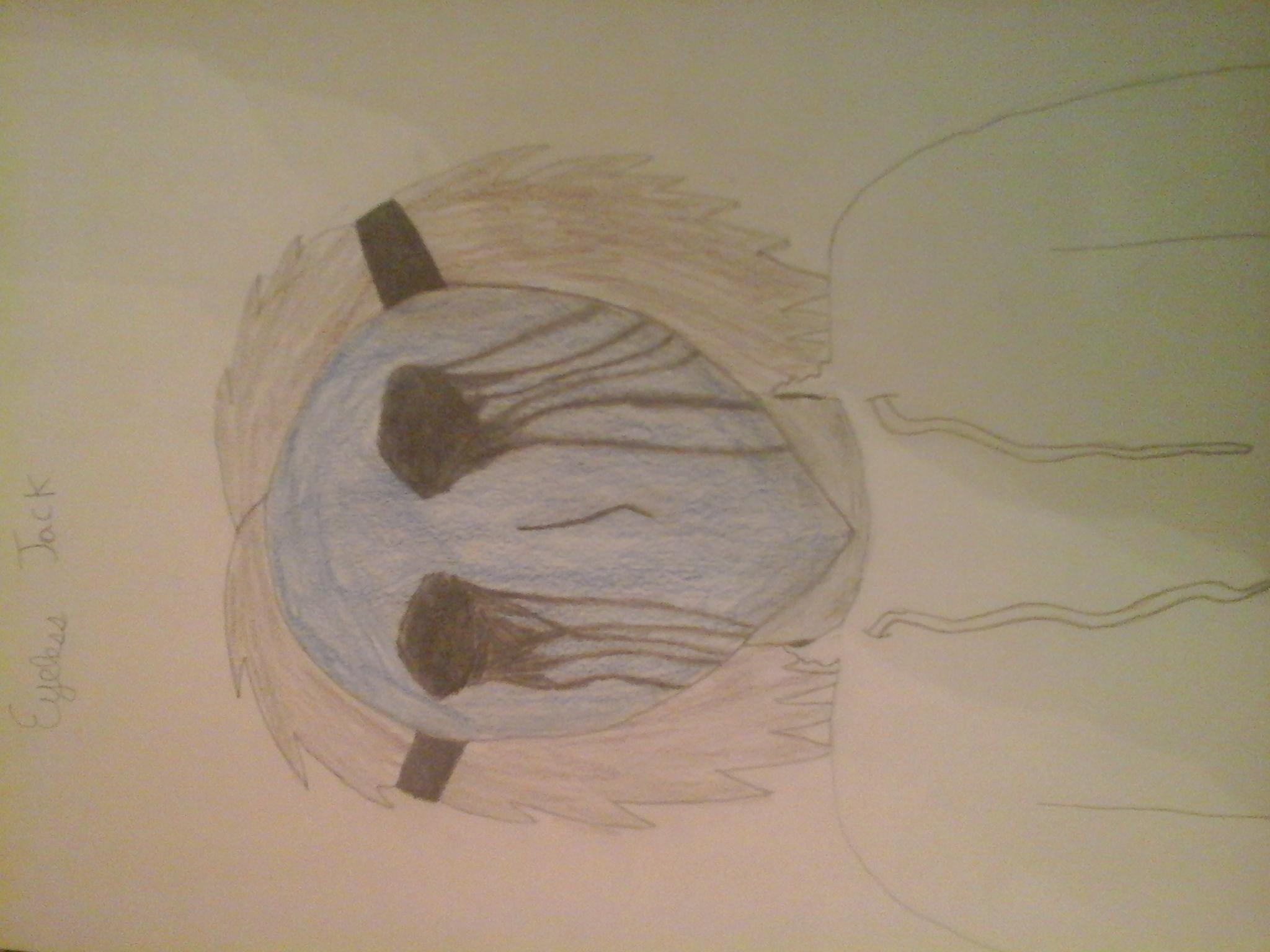 Drawn eyeless jack female © Blood_Moon Eyeless 2017 2015