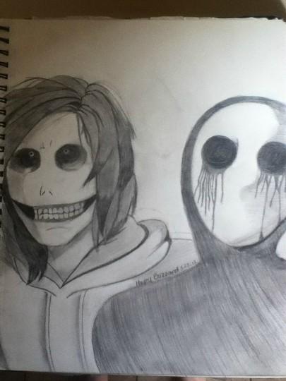 Drawn eyeless jack female Jack Eyeless and The My
