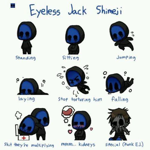 Eyeless Jack clipart creepypasta character 20+ Eyeless on ideas Tumblr