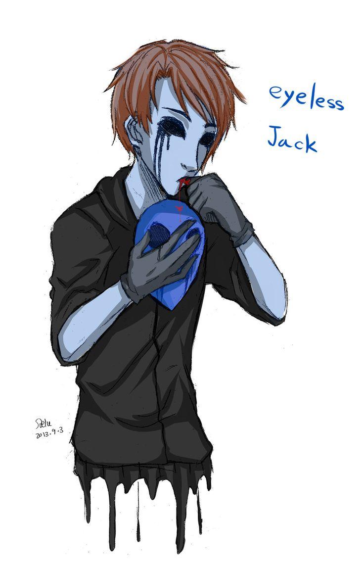 Eyeless Jack clipart creepypasta Jack Eyeless Eyeless on DeviantArt