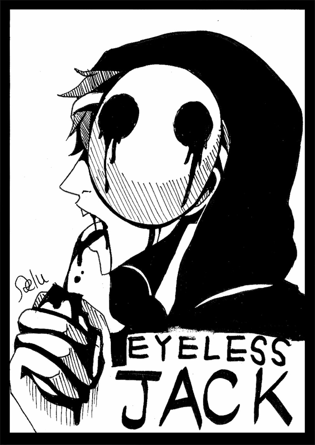 Drawn eyeless jack hot By Eyeless Eyeless by DeluCat