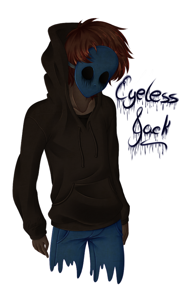 Drawn eyeless jack hot On by DeviantArt Creepy pasta
