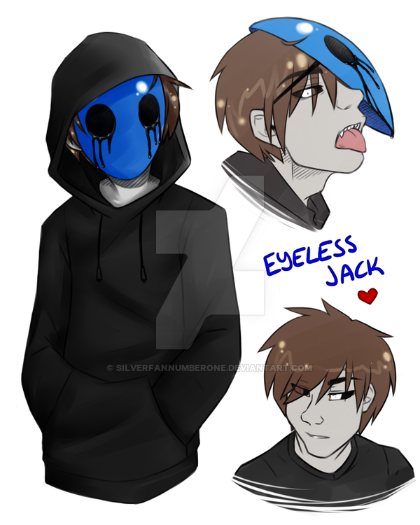 Drawn eyeless jack human Eyeless SilverfanNumberONE on by Jack