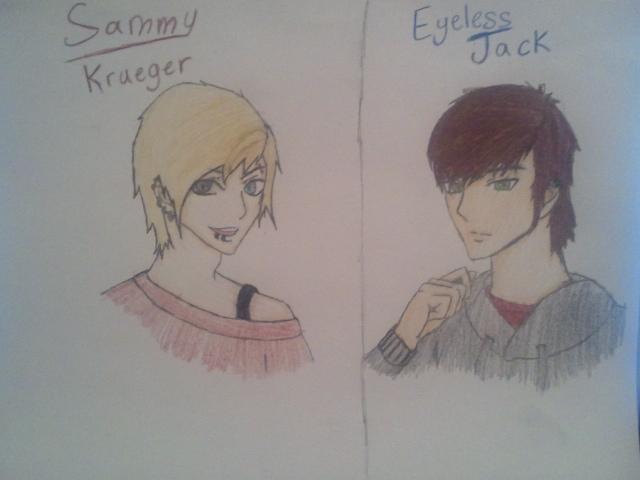 Drawn eyeless jack human By were Jack DeviantArt by