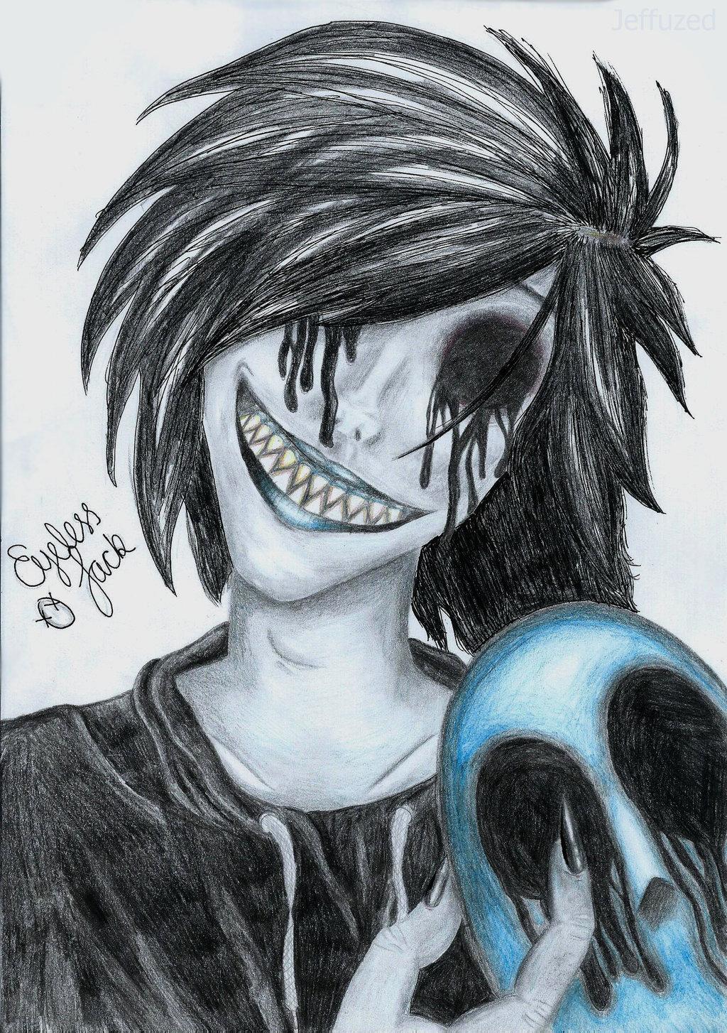 Drawn eyeless jack human Jack Jeffuzed on [SCAN] Eyeless