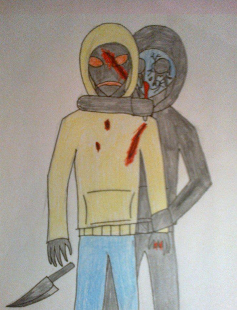 Drawn eyeless jack jason Eyeless Jack VS DarkZekrom5 DarkZekrom5