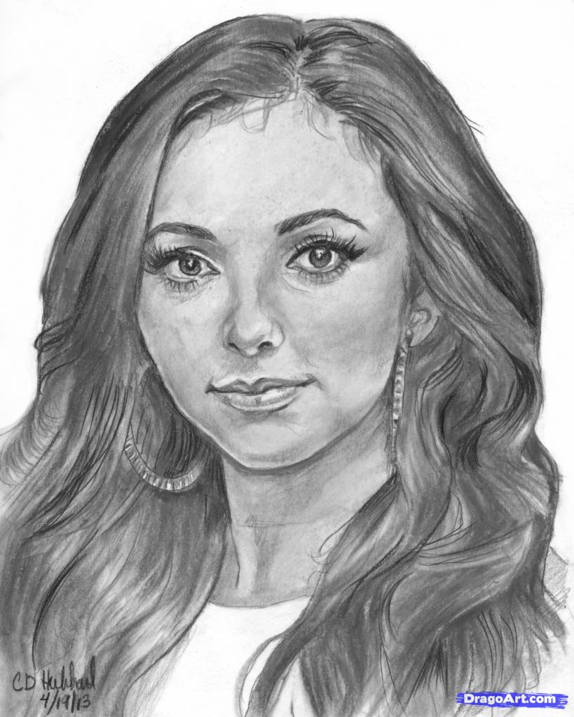 Drawn face Pencil Art Drawing Face Pencil