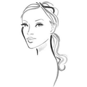 Drawn face Drawn Pencil Polyvore Pencil face