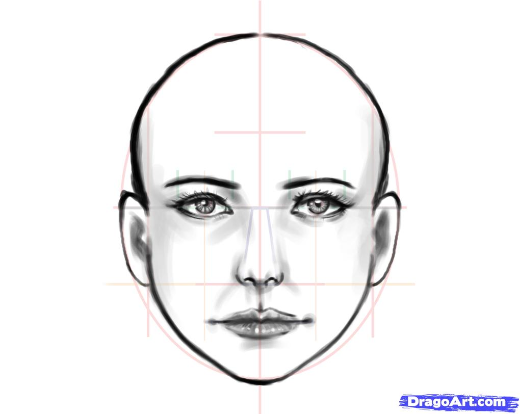 Drawn face Human face People 25+ on