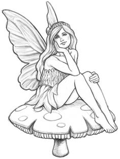 Drawn fairy How Mikesell Nicholas  a