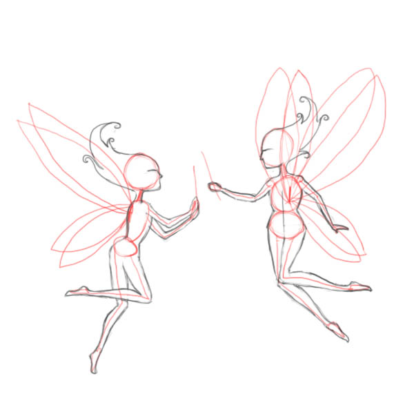 Drawn fairy How defining – fairies bodies