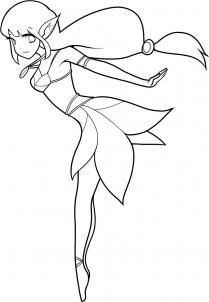 Drawn fairy Step girl fairy Fairy by