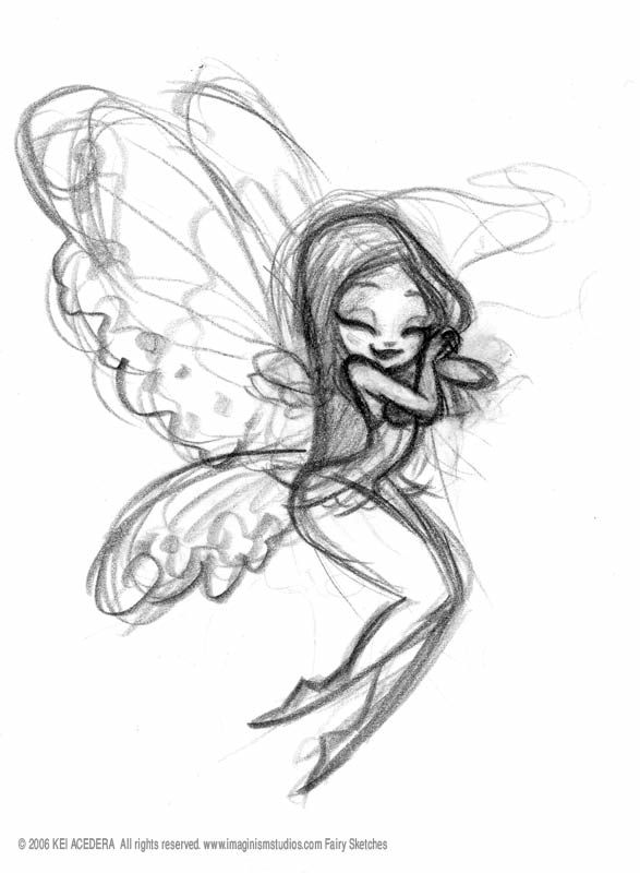Drawn fairy Ideas 25+ Best drawings fairy