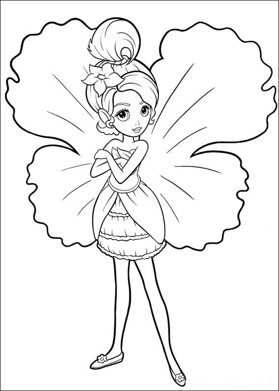 Drawn fairy coloring page FAIRY COLORING AS images best