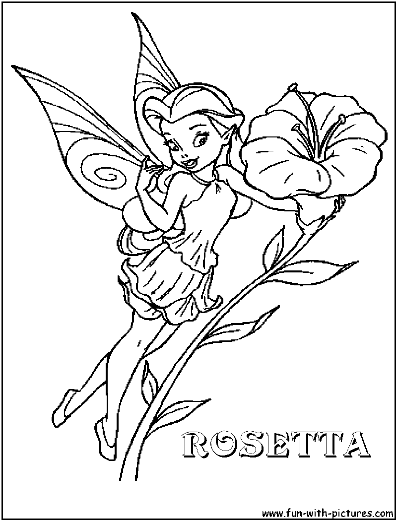 Drawn fairy coloring page Disney Disney Page fairies Coloring