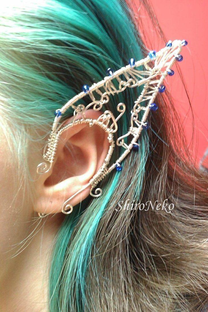 Drawn fairy elf ear By Cuff best 39 piercings