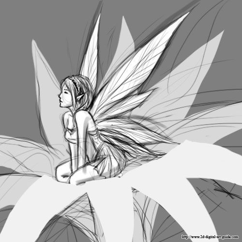 Drawn fairy never Fairy to draw of to