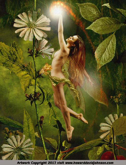 Drawn fairy realistic Art Faerie Art
