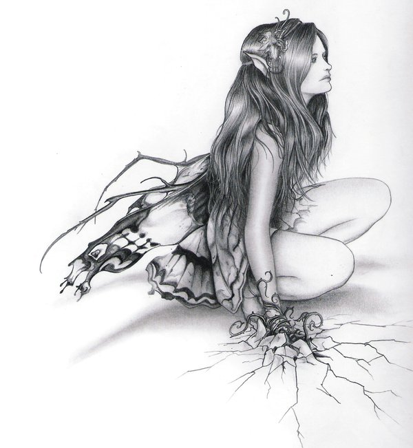 Drawn fairy realistic DeviantART fairy Mythical ~Sncial ~Sncial