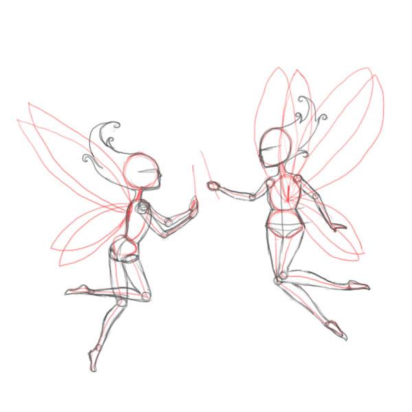Drawn fairy realistic 2)  fairies fairy a