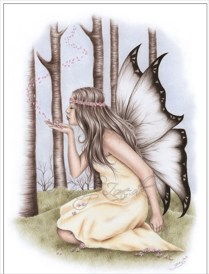 Drawn fairy realistic Which helps of & 30+