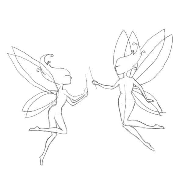 Drawn fairy realistic Drawing to Factory draw fairies