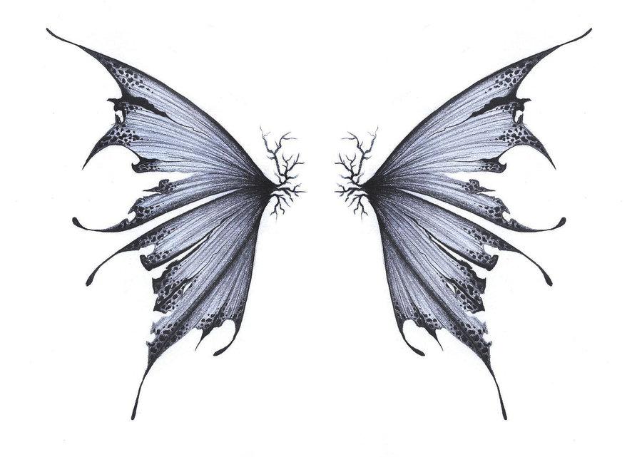 Drawn fairy side view Google com by Tattoos deviantart