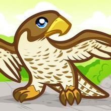 Drawn falcon easy Fish to Kids Falcon draw