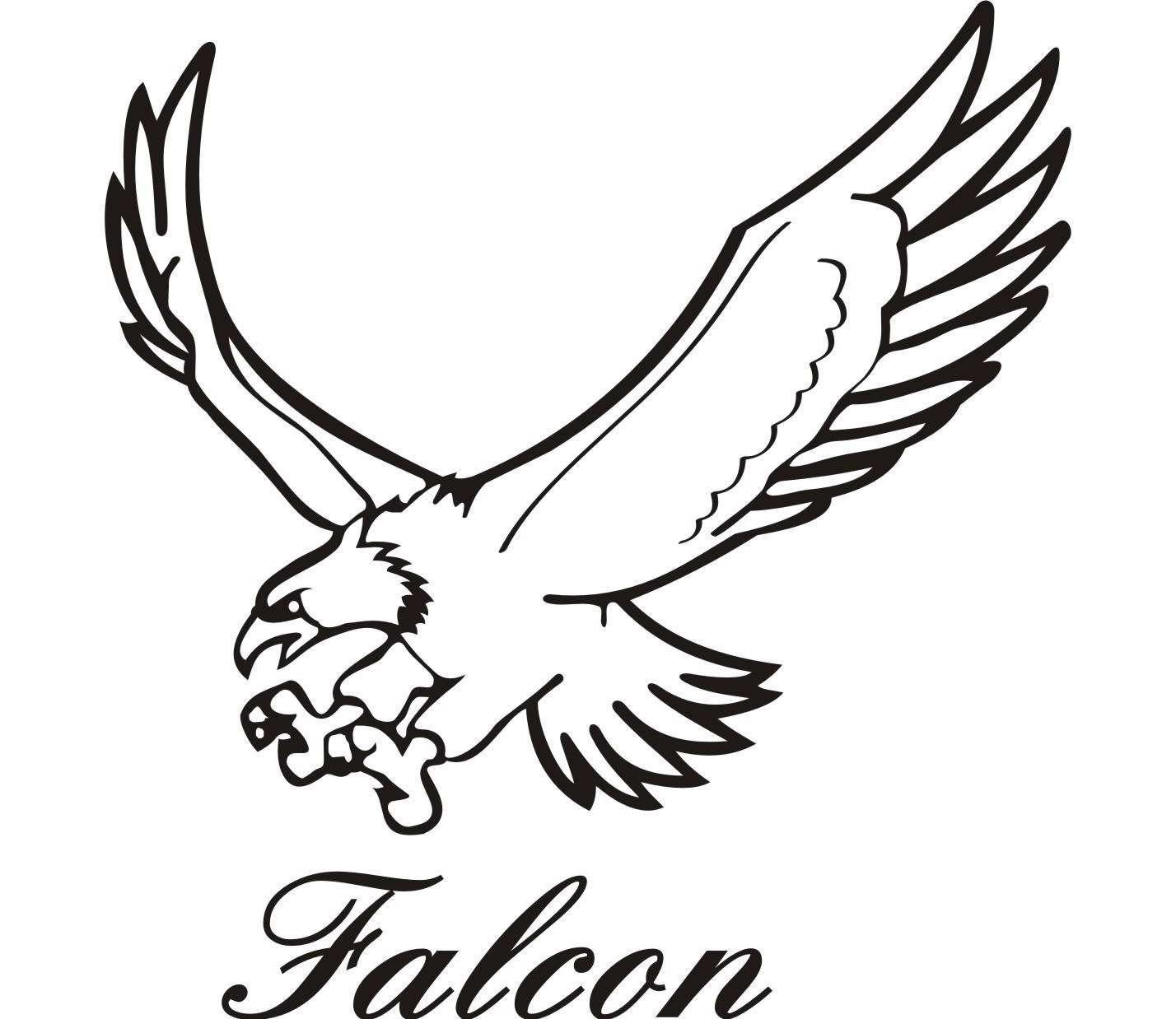 Drawn falcon falcon wing Wing photo#11 Falcon Drawing Wing