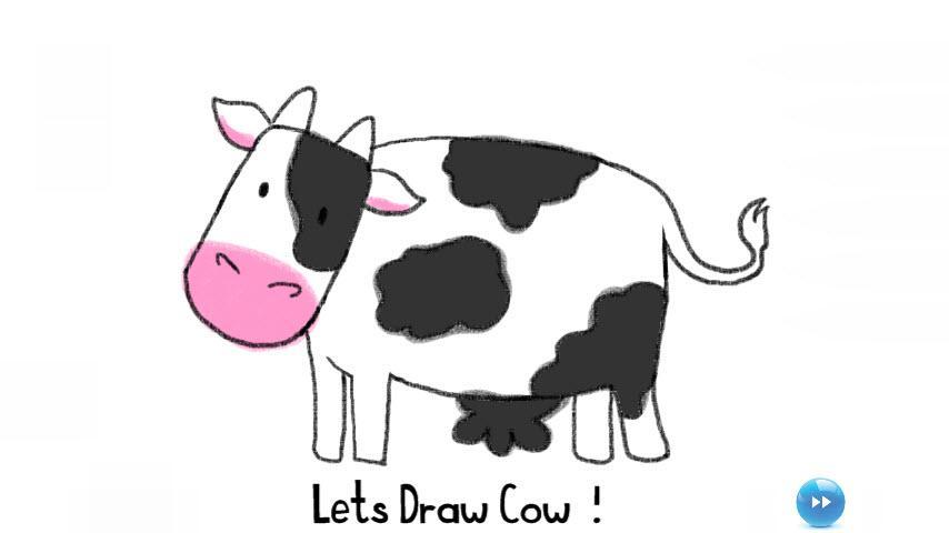 Drawn farm animals #10