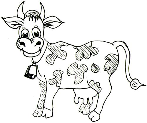 Drawn farm animals #7