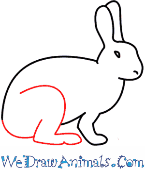 Drawn rabbit simple A Draw Rabbit How To