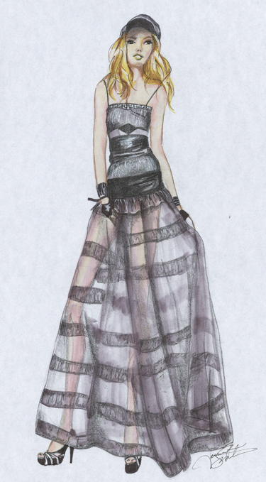 Drawn fashion Drawing Style fashion Muse This