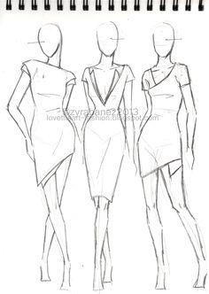 Drawn figurine clothed figure Fashion Pinteres… DarkCrea Illustration …