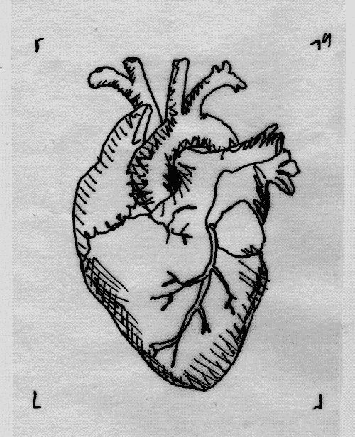 Drawn triipy heart Tumblr on drawing Heart heart