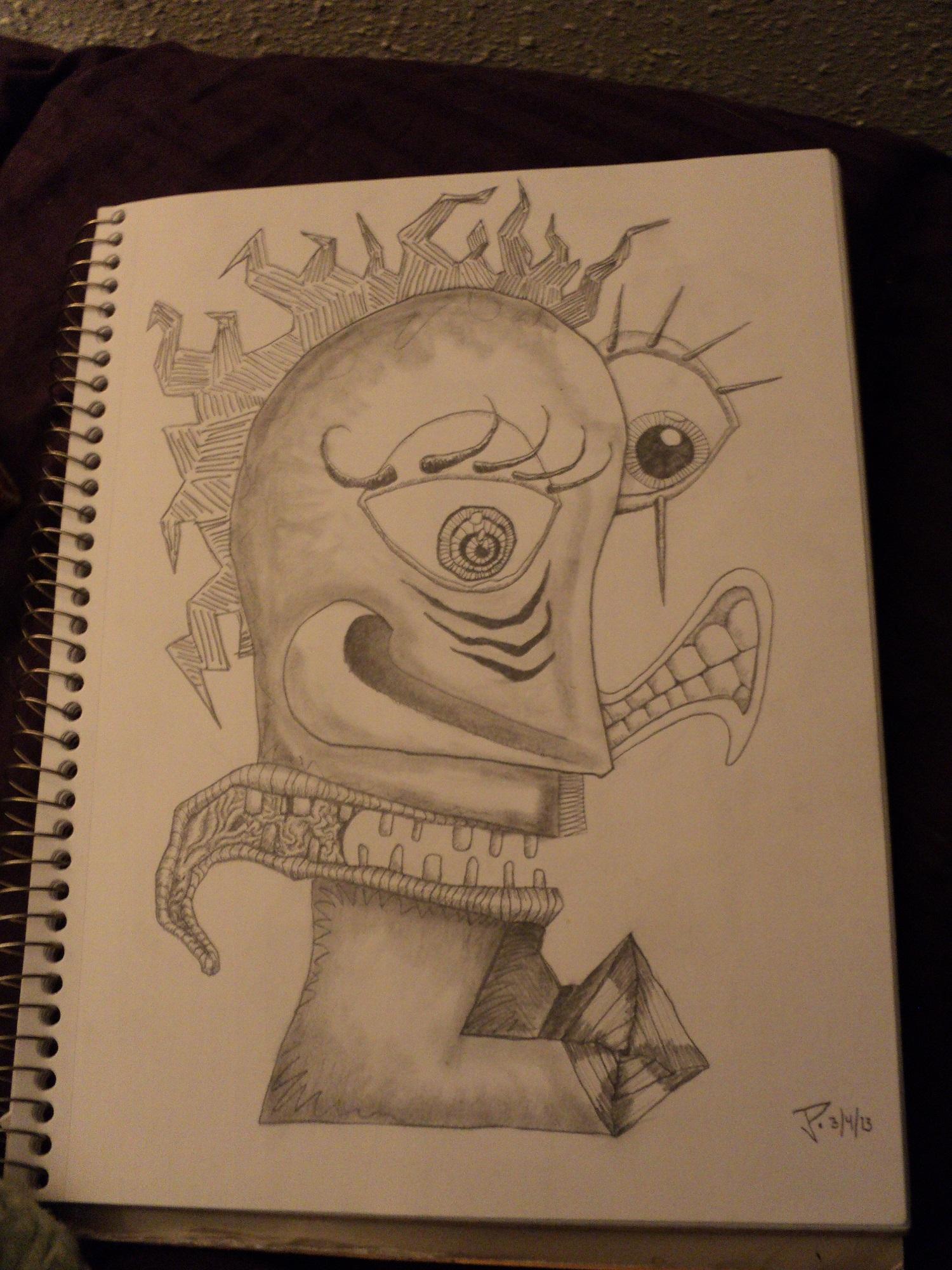 Drawn feelings notebook #4