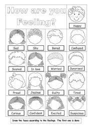 Drawn feelings notebook #6