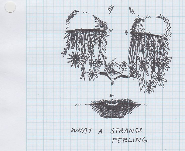 Drawn feelings notebook #10