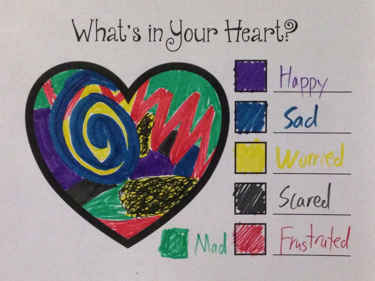 Drawn feelings notebook #3