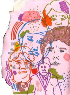 Drawn feelings notebook #12