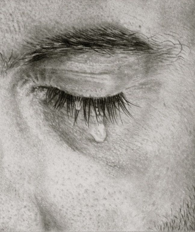 Drawn tears emotional Pinterest 292 Silva;