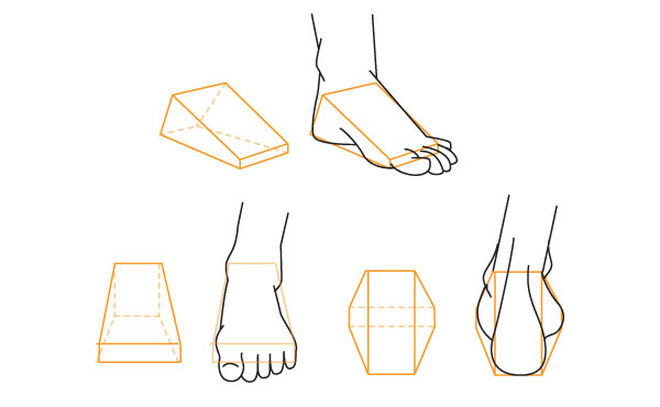 Drawn feet Alternative to How Fundamentals: the