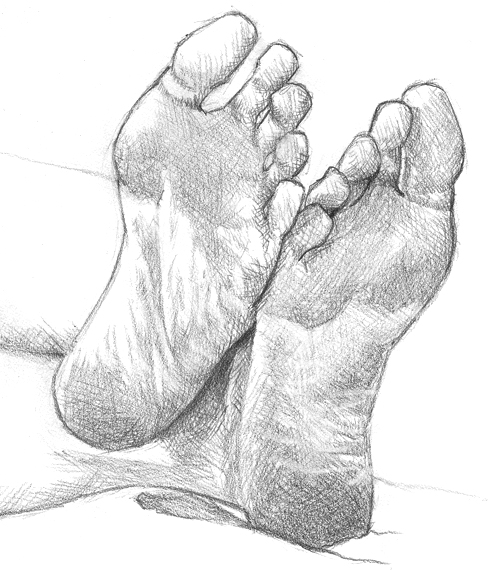 Drawn feet Feet! feet How feet! Feet