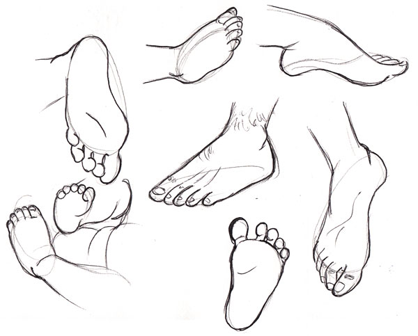 Drawn feet Product Human Feet Fundamentals: Final