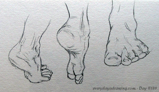 Drawn feet Drawing Feet Art Feet Realistic